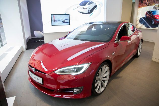 Tesla are currently leading the charge on electric cars. This Model S will set you back around about...
