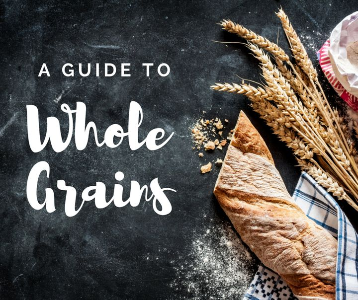 Whole grains contain more nutrients than refined white flour products.