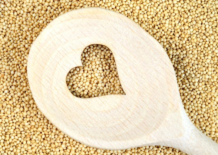 Whole grains are a sustaining source of energy and protein.