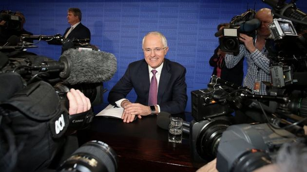 Malcolm Turnbull at the National Press