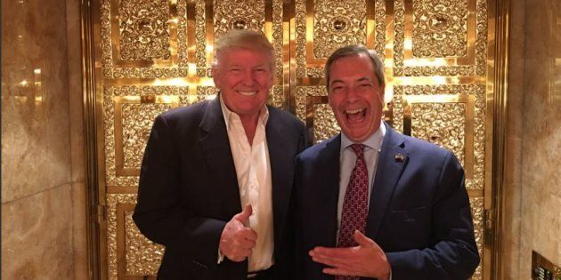 Donald Trump and Nigel Farage Meet In New