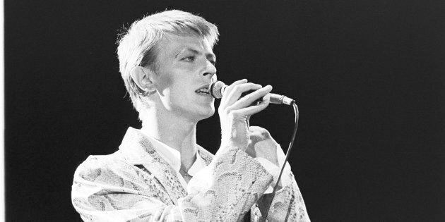 David Bowie is among some of the international acts