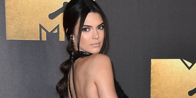 Kendall Jenner turns her back on
