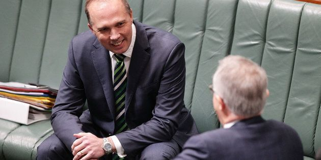 Dutton said he and Turnbull have worked through all scenarios, including a Trump