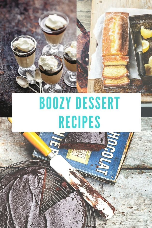 Boozy Desserts To Get You Merry This