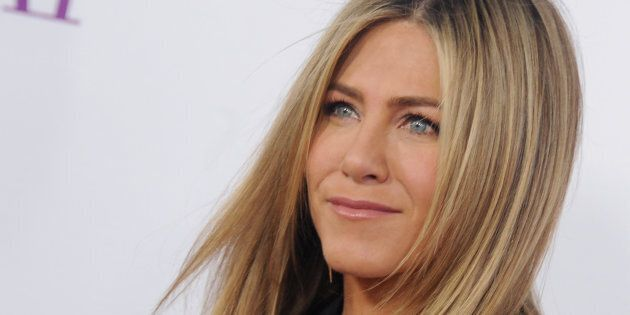 HOLLYWOOD, CA - APRIL 13:  Actress Jennifer Aniston arrives at the Open Roads World Premiere Of 'Mother's Day' at TCL Chinese Theatre IMAX on April 13, 2016 in Hollywood, California.  (Photo by Gregg DeGuire/WireImage)