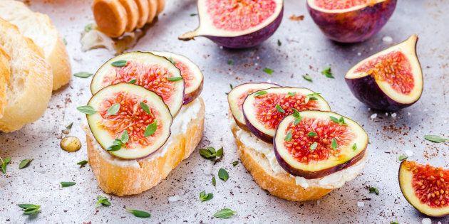 Swap jam for ricotta, fruit and
