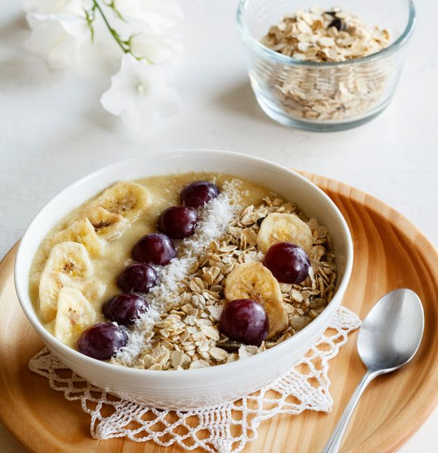 Experiment with your toppings by adding extra fruit, nuts, seeds and