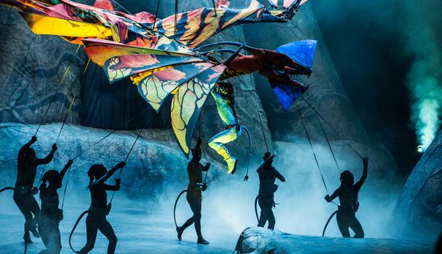 Cirque du Soleil TORUK: The Latest Show From The Most Famous
