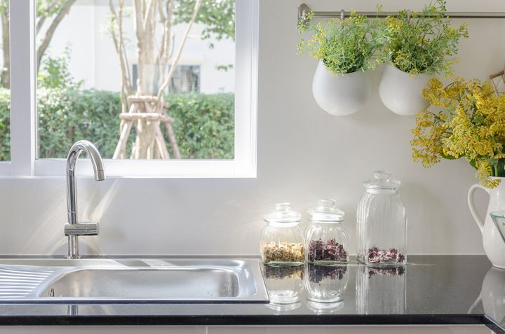 Having greenery in and around your apartment helps filter the air and create a vibrant, bright mood.