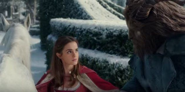 The official trailer for 'Beauty and the Beast' has been