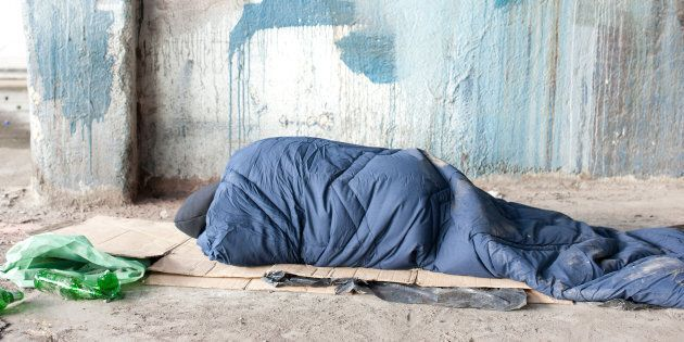 Homelessness has barely been touched as an election