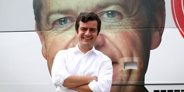 Senator Sam Dastyari Labor leader Bill Shorten's ever watchful