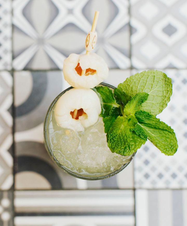 This sweet, zesty and minty refreshment will help make this dry month bearable.