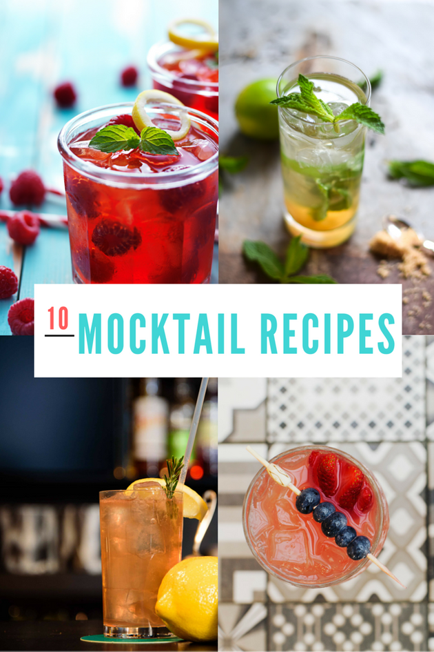 10 Mocktail Recipes To Help You Survive Dry