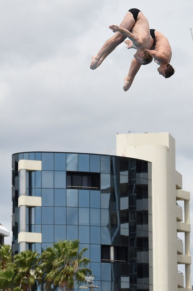 Mitcham and Bedggood leap tall buildings in a single
