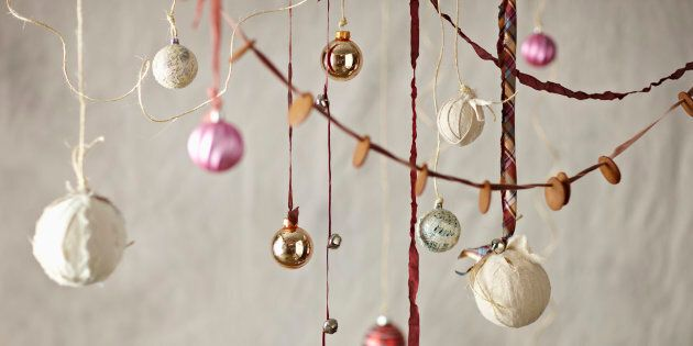 You don't need to spend a fortune to create that Christmas feel.