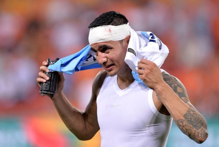 He's been in the wars of late. The Socceroos pretty much owe it to him to beat Thailand without him.