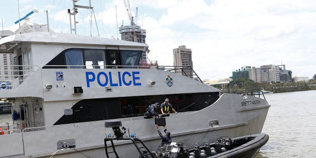 The trawler sank on Monday