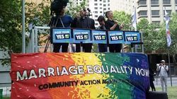 Huge Same-Sex Marriage Rally In Sydney Kicks Off National Equality