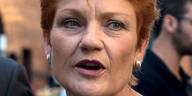Pauline Hanson's not a fan of halal snack