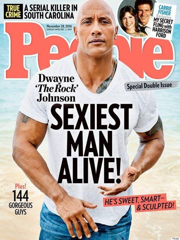 Dwayne Johnson Named The 'Sexiest Man