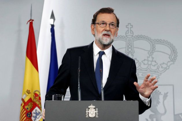Spain's Prime Minister Mariano
