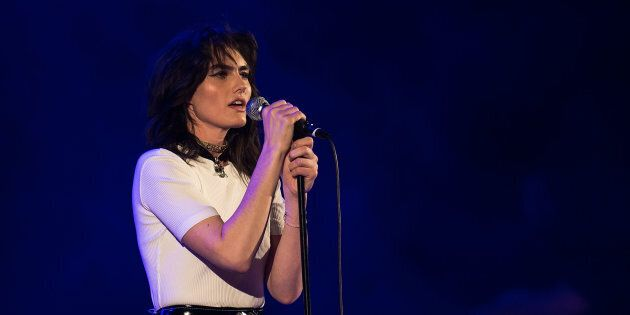 The singer asked fans to send her stories of sexual harassment in an Instagram post.