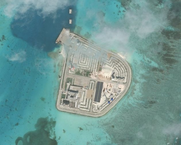 Johnson South Reef. It is also known as Chigua Reef, Yongshu Reef, Gc Ma Reef and Mabini Reef and is...