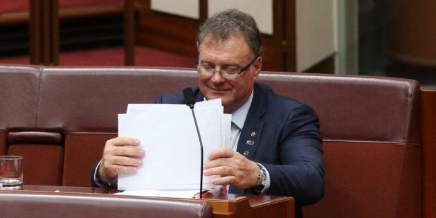 Senator Rod Culleton says he cannot possibly attend the proposed directions