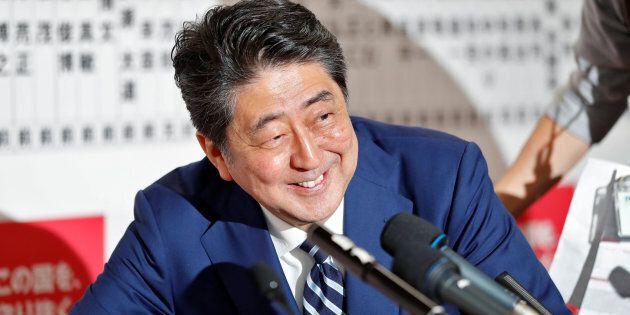 Japan's Prime Minister Shinzo