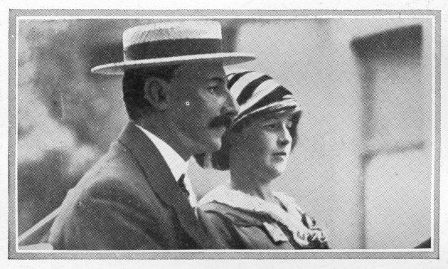 John Jacob Astor and his bride Madeleine had been on an extended honeymoon in Egypt and Paris and in the spring of 1912, decided to return to America on board the Titanic.