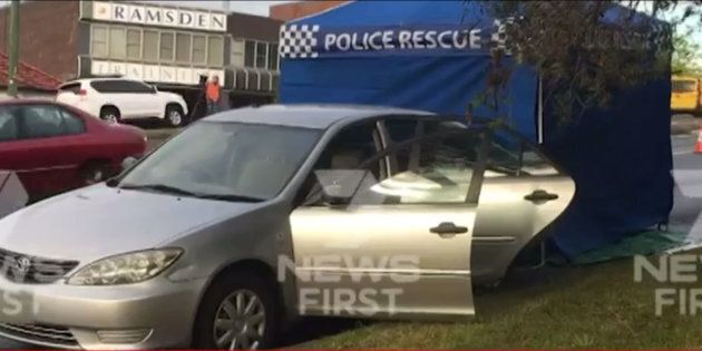 A police crime scene has been set up in the Newcastle, NSW suburb of Lambton.