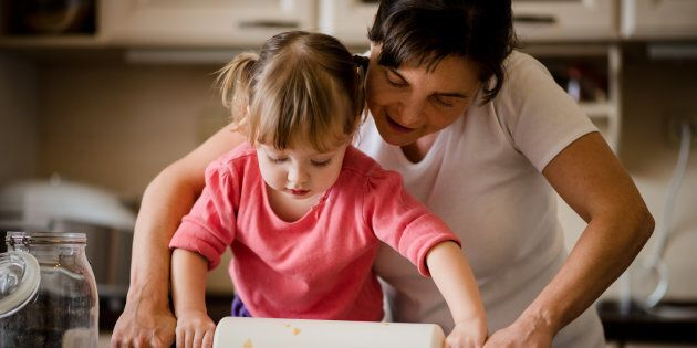 The sooner you get your kids in the kitchen the sooner they will be educated about food and have a love of cooking.