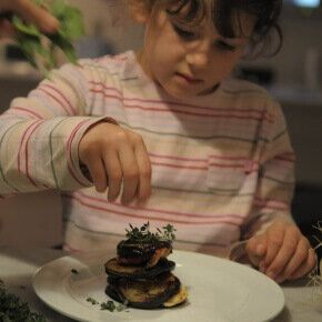 If you get your kids cooking from the early years, chances are they will have a life long love of food.