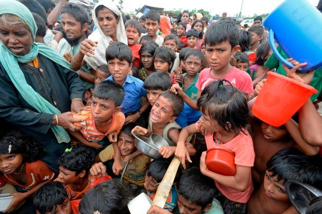 More than half a million Rohingya refugees have fled Myanmar to avoid violence and