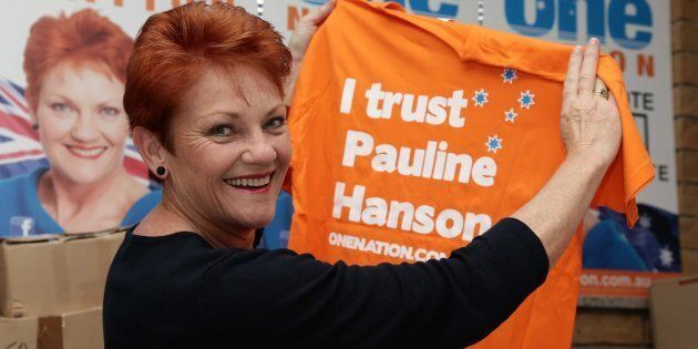 Pauline Hanson has been returned to