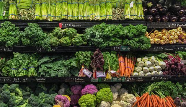 A healthy diet full of fresh veggies