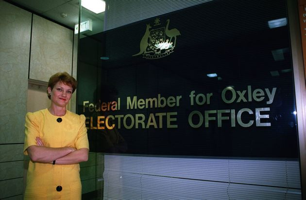 Hanson, in her days as MP for Oxley, in