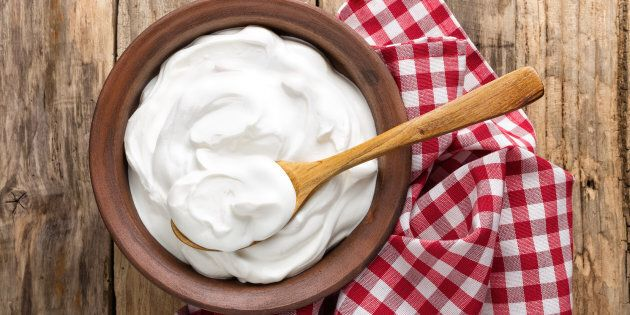 Please, keep yoghurt for your breakfast.