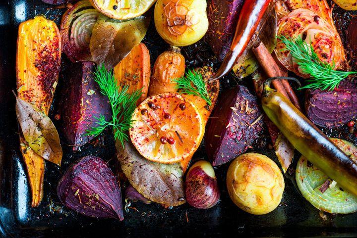 Roast up your favourite vegetables to serve alongside your succulent roast.