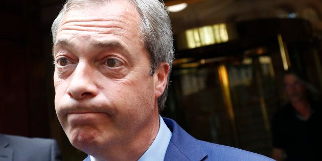 Nigel Farage, a driving force in the Brexit campaign, has resigned as the leader of the U.K. Independence