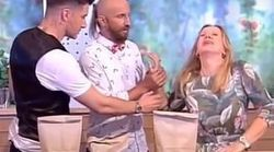 Magic Trick Goes Horribly Wrong When TV Host Impales Hand On
