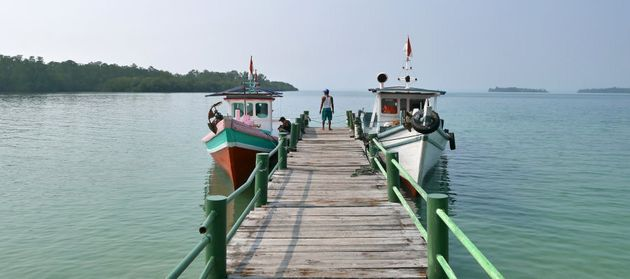 See the real Tanjung Lesung Bay at Cipanon Fisherman