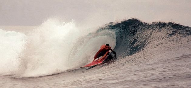 There's good surf in North Maluku,