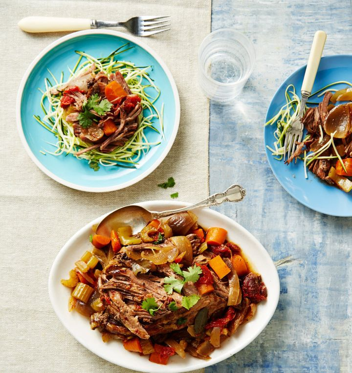 Slow cookers are the best.