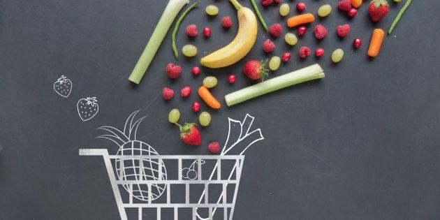 Buying in-season produce is key.