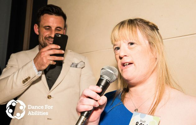 Hopkirk with his sister Rosa at the latest DFA event.