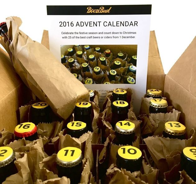 Booze Advent Calendars, Because Why Should Kids Have All The