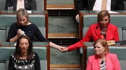 Labor MPs Embrace In Beautiful Moment Of Respect For Linda